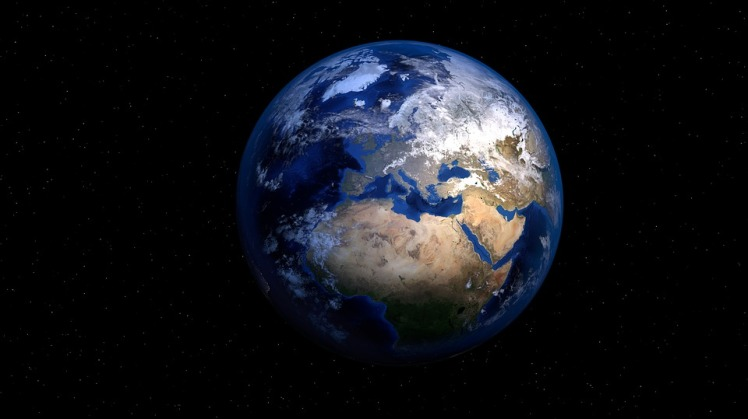 Globe Earth Planet World Space Map Of The World